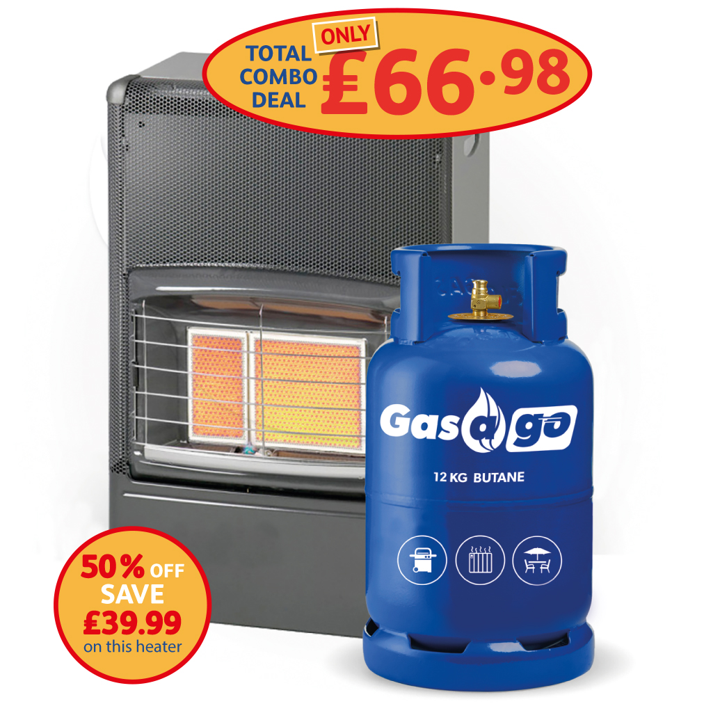 Portable Cabinet Heater PACKAGE DEAL