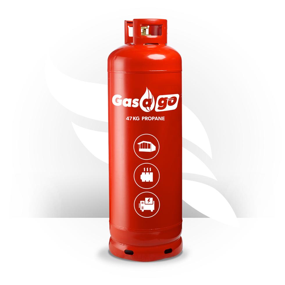 47kg Propane Gas Cylinder | Gasago