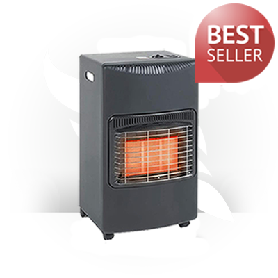 Portable Calor Gas Style Cabinet Heater – With Hose and Regulator