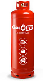 Propane Gas Bottles from gasago.co.uk